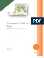 Information Literacy Plan - E Long