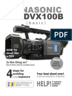 DVX100B Manual