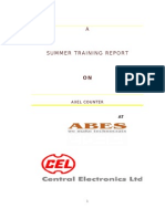 Axel Counter Summer Training Report
