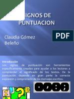 Signos de Puntuacion Claudia