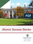 Alumni Success Stories