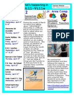 April 2012 Newsletter