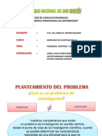 Investigacion 3 Problema, Hipotesis y Variable