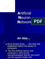 Artificial Neuron Network. (1)