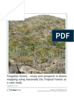 Sarkinen Et Al 2011 Forgotten Forests, SDTF Case Study in Biome Mapping - BMC Ecology
