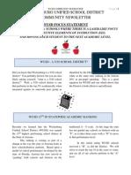 2012 Wickenburg Schools Newsletter (April)