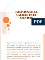 Como Medir La Calidad en Los Servicios