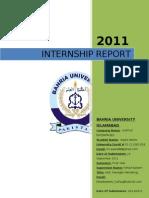 Internship Awais Report