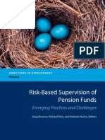 Risk-Based Supervision of Pension Funds Emerging Practices and Challenges (Directions in Development) Summary