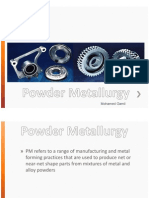 Powder Metal Manufacturing