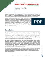 Company Profile of SSIT