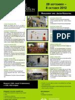 Loofhuttenfeest flyer (28 september – 8 oktober 2012)