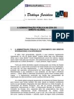 A Adm Publica Na Era Do Direito Global - Carlos Sundfeld -DIALOGO-JURIDICO-02-MAIO-2001-CARLOS-ARI-SUNDFELD