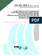 ETSI EN 301 908-3 V5.1.1 (2010-10)