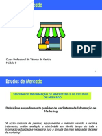 Estudos de Mercado