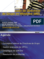 Uso Avanzado de GPOs en Windows Server 2003