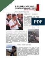 Bancada Nacionalista Gana Perú - Boletín Nº 22