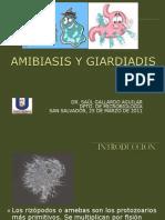 Amibiasis y Giardiadis 3-3 2011