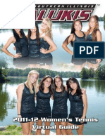 Saluki Tennis Media Guide
