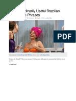 10 Extraordinarily Useful Brazilian Portuguese Phrases