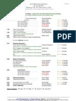 East Midlands Speakers Programme 126 16th April 2012