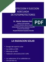 Presentación Bloqueador Solar