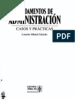 Fundamentos de Administracion - Munch Galindo