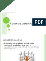 Clima y Ambiente Organizacional