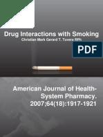 Drug Interaction Polluiton