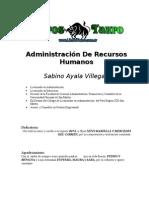 Ayala Villegas, Sabino - Administracion de Recursos Humanos