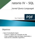 Laboratorio IV Clase 2 SQL