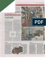 Bibliotecas Itinerantes - Diário de Noticias - 07/04/12