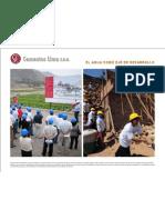 Cementos Lima - El agua como eje de desarrollo