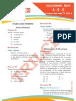 Solucionario San Marcos 2012-II ADE