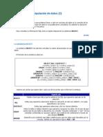 Ejemplos de La Sentencia Select y Otros...
