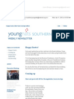Weekly Newsletter #7 2012 - Easter Special