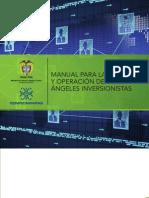 Manual para la creación y operación de redes de ángeles inversionistas