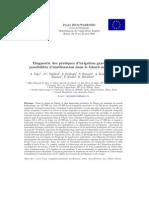 diagnostic des pratiques d'irrigation gravitaire et possibilités d'améliorations dans le Ghrab du maroc