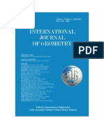 International Journal of Geometry, Vol. 1, No. 1, 2012