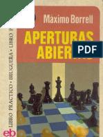 Aperturas Abiertas - Máximo Borrell