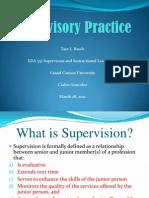 Supervisory Practice
