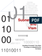 Manual de Subneting y Vlsm