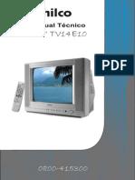 04-Treinamento técnico TVC  PHILCO TV14 TV 14E10