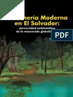 Libro La Minería Moderna en El Salvador perversidad emblemática de la mascarada globalizante