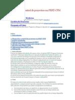 Planeación y control de proyectos con PERT-CPM