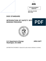 Integration of Safety on Design