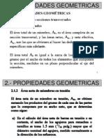 2.- Propiedades Geometricas