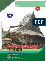 Kelas XI SMA Bahasa Antropologi Kontekstual Supriyanto