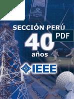 Revista IEEE Sección Perú 40 años