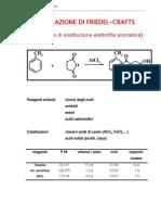 29-Acilazione Friedel Craft Reazione Sostituzione Elettrofila Aromatica